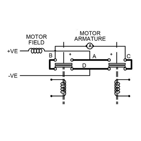 DC88-3 Albright 12V DC Motor Reversing Solenoid Contactor Intermittent